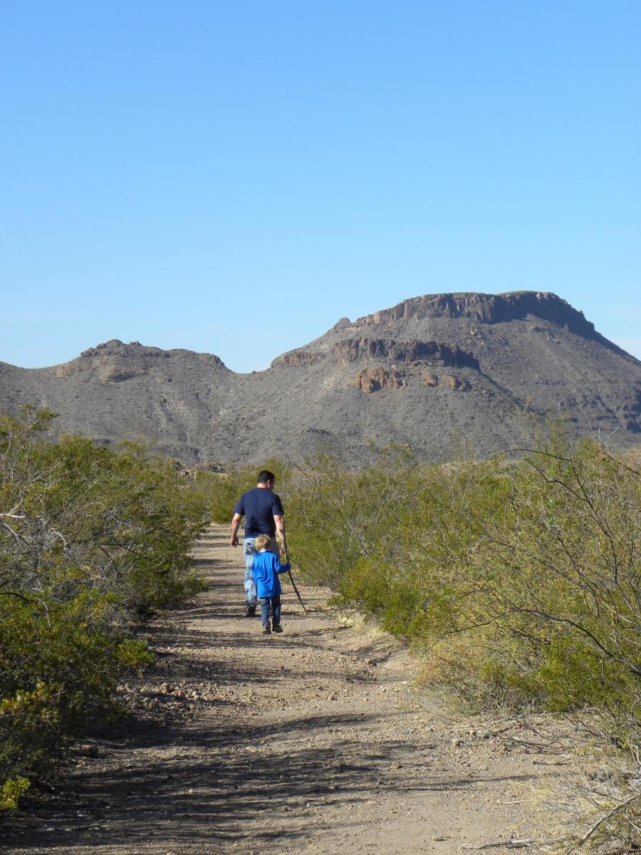 Ojito Andentro trail