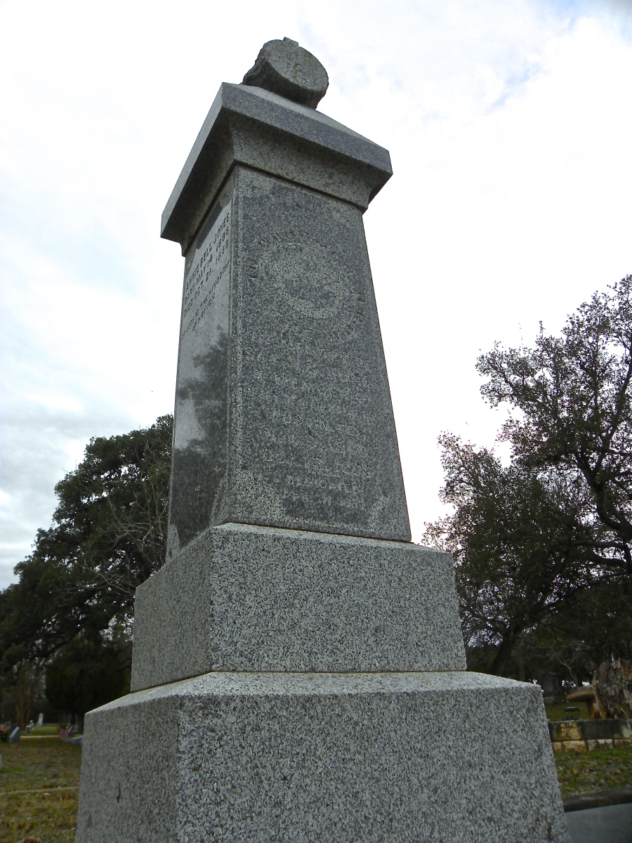 Woodmen of the World family plot. These were a benefit of belonging to the organization, but it became too costly to continue the gravestone program.