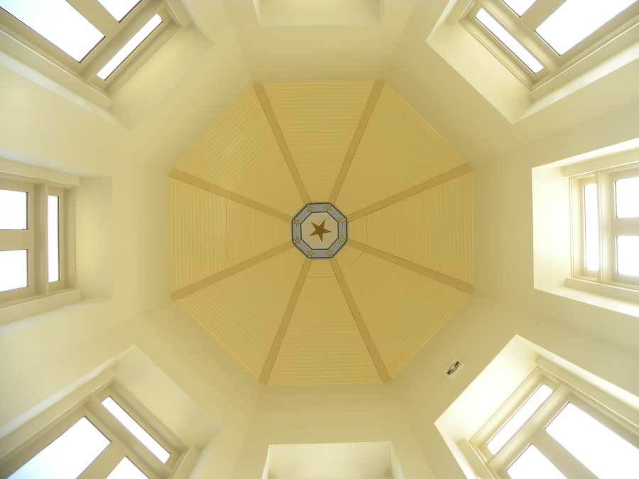 Rotunda ceiling.