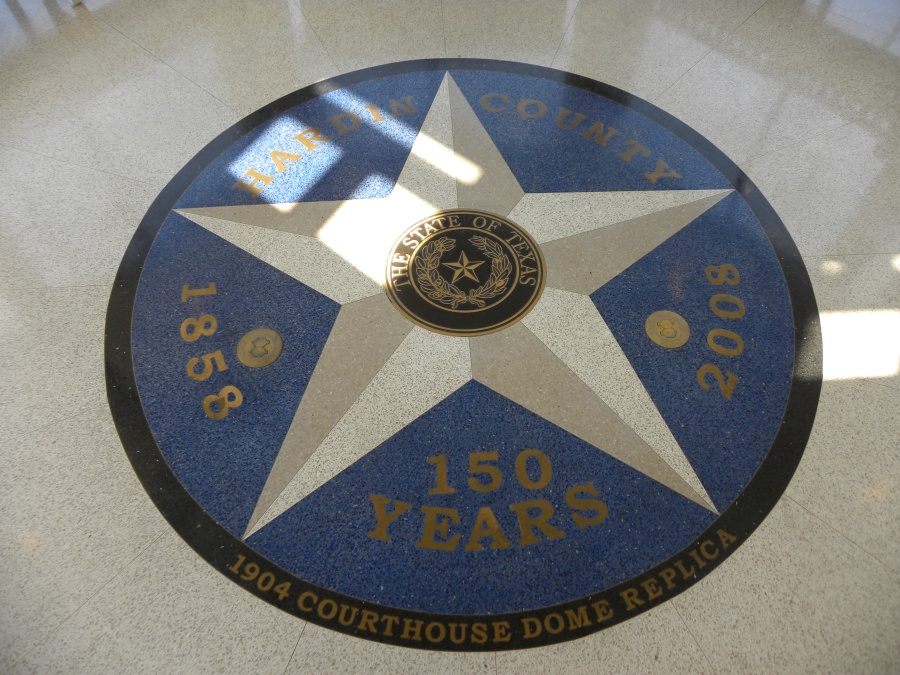 Floor of the rotunda.